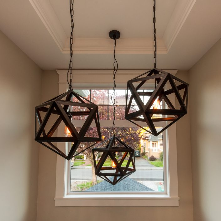 Rayn Properties | Transit up-close view of custom lighting fixtures
